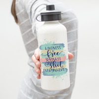 Kindness Is Free Quote Water Bottle