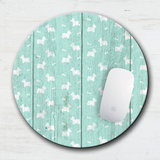 Country Westie Mouse Pad & Coaster