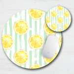 Summer Lemons Mouse Pad & Coaster