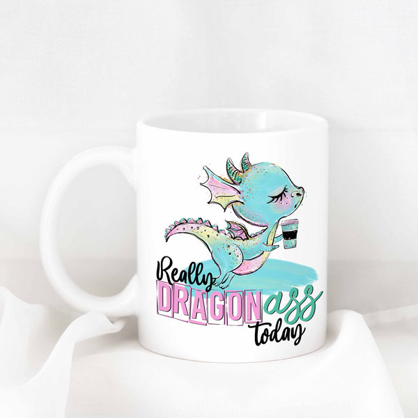 Really Dragon Ass Dragon Ceramic Mug