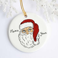 Santa Personalized Ornament