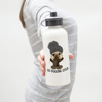 So Pugging Cold Pug Water Bottle