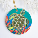 Sea Turtle Personalized Ornament