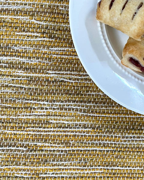 Yellow & Gold Placemats