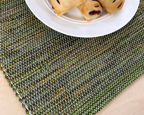 Olive & Gray Placemats