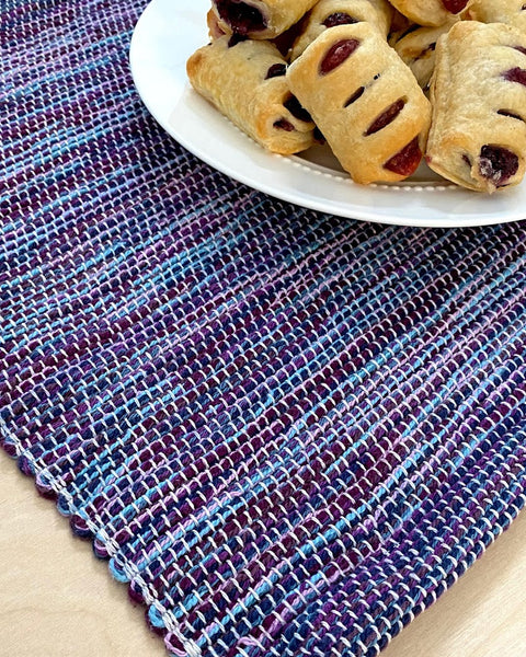 Purple & Blue Placemats