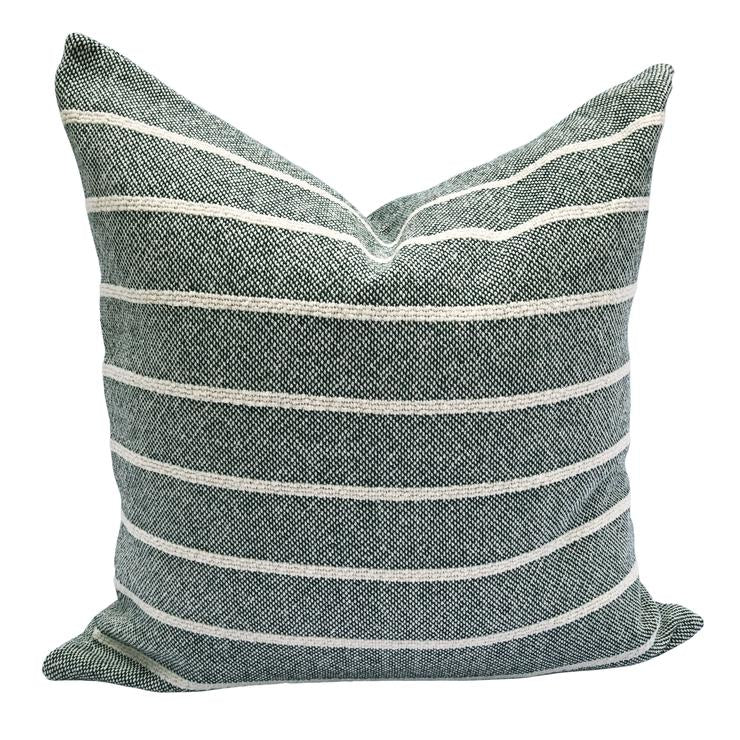 Simple Stripe Pillow - Hunter