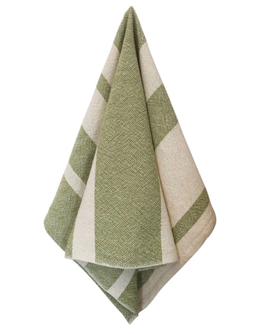 Everyday Tea Towel - Lime WS