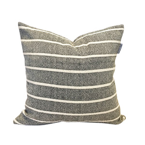 Simple Stripe Pillow - Black