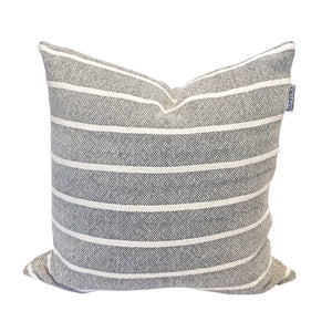 Simple Stripe Pillow - Gray