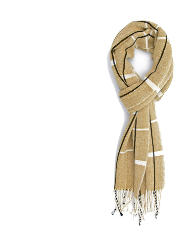 Gold Bamboo Scarf
