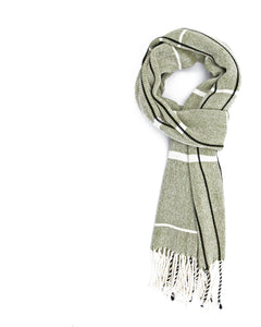 Olive Bamboo Scarf