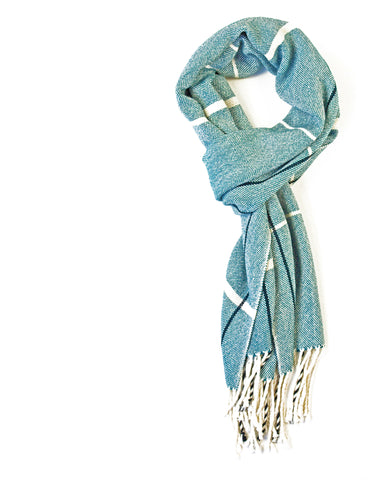 Teal Bamboo Scarf