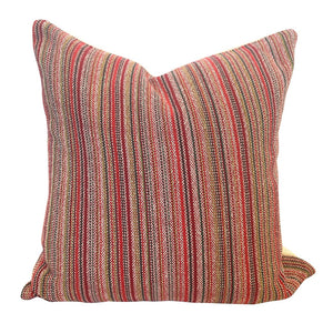 Multi Stripe Pillow - Picnic & Wine