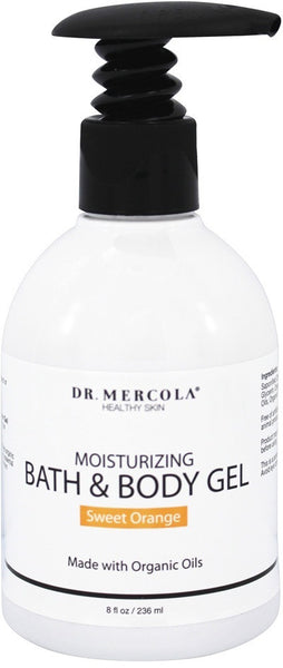 Moisturizing Bath & Body Gel - Delight in Aromatic Orange Hues & Creamy Texture by Dr. Mercola