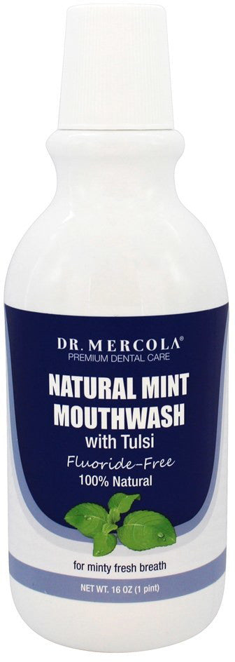 Natural Mint Mouthwash - A Cleansing Nutrient Enhances Your Teeth & Mouth by Dr. Mercola