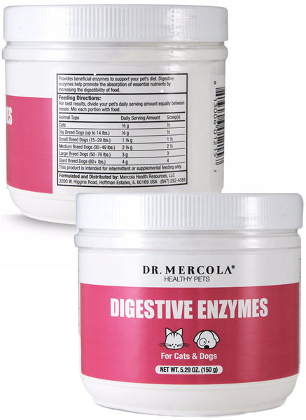 Digestive Enzymes For Pets - Your Pet's Best Insurance for Protecting Her Fragile Enzyme Bank by Dr. Mercola