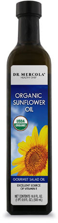 Organic Sunflower Oil - A Special Type Of High Oleic Sunflower Oil by Dr. Mercola