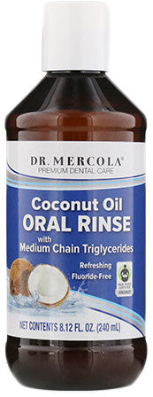 Coconut Oil Oral Rinse - Overall Detoxification Regimen by Dr. Mercola