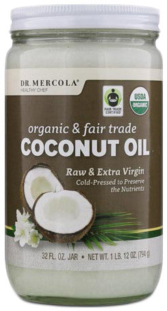 Extra Virgin Coconut Oil - Supports Good Immune System Health by Dr. Mercola