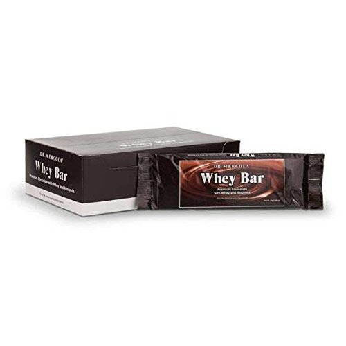Whey Bar - Build Muscle & Support Your Immune Health by Dr. Mercola
