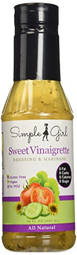 Sweet Vinaigrette - A Healthy Salad Dressing for Full Body Flavor by Simple Girl
