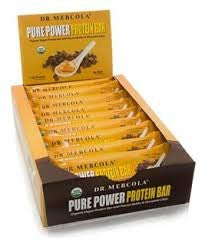 Pure Power Protein Bar - Peanut Butter Chocolate Chip; 12- 1.76 oz bars