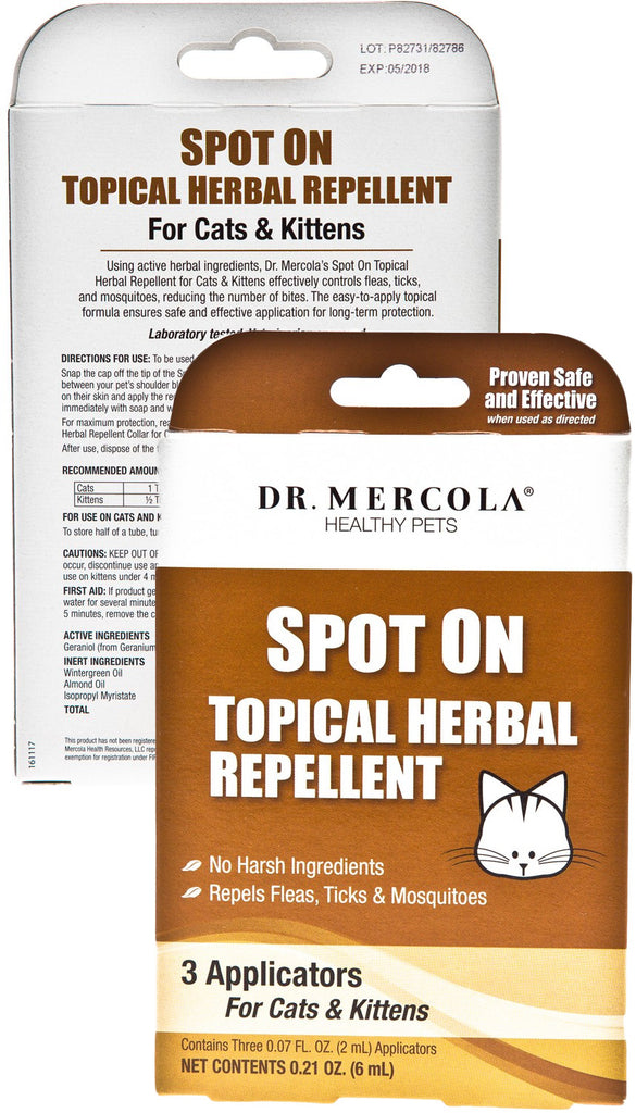 Spot On Topical Herbal Repellent - Ultimate Protection During Insect Season by Dr. Mercola