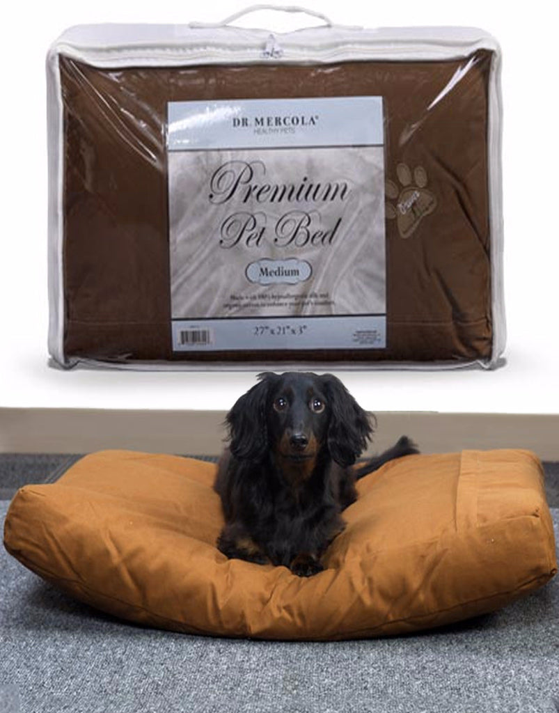 Premium Pet Bed - Gives Your Furry Friend a Comfortable, Safe Place To Rest & Sleep by Dr. Mercola