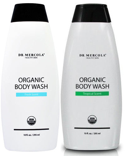 Organic Body Wash - Pamper Your Skin With Shea Butter & Organic Coconut Oil by Dr. Mercola