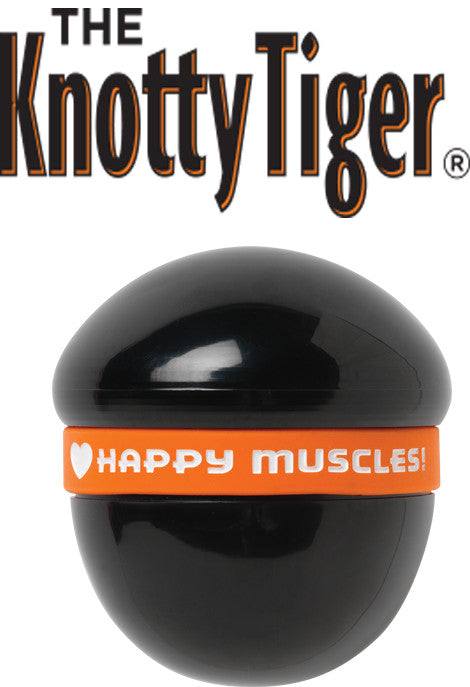 "3"" Knotty Tiger - Deep Penetrating Muscle Tension Relief by Tiger Tail USA"