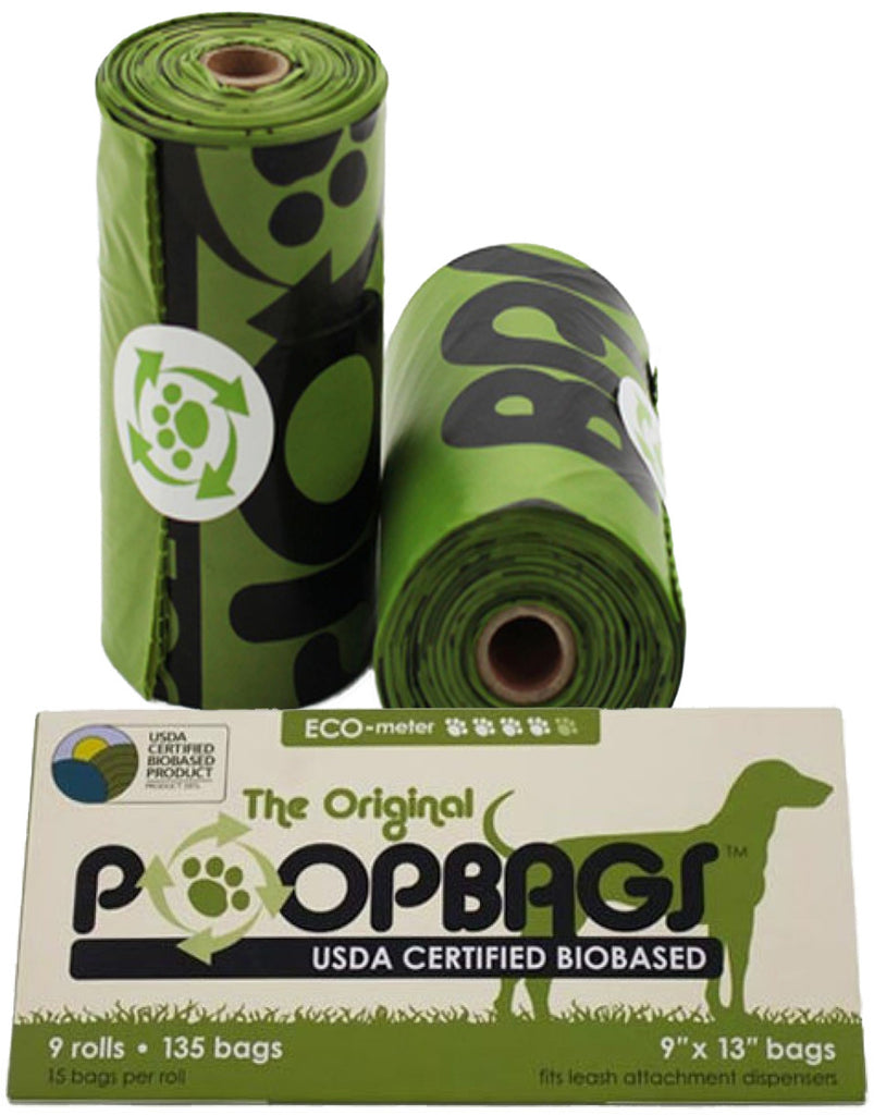 PoopBags - Eco-Friendly Dog Waste Bags with Dispenser by Dr. Mercola