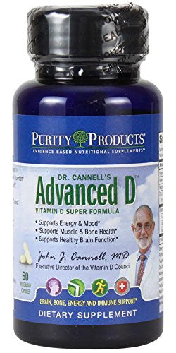 Dr. Cannell's Advanced D - Advanced Bone & Muscle Support by Purity Products