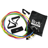 BodySport Resistance Tubes Kit - Resistance Band Training - Stimulate Muscles - Strength Training - 5 Levels Of Resistance