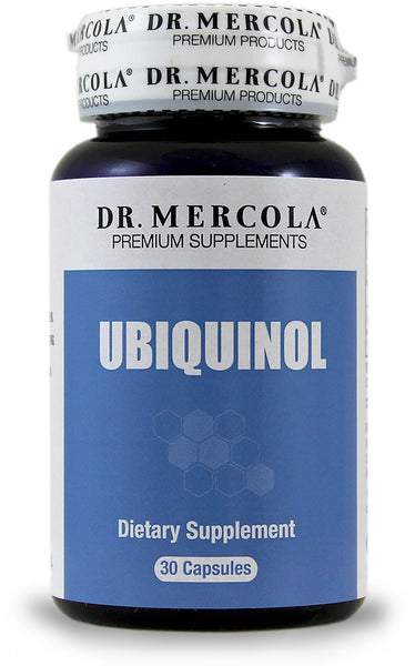 Ubiquinol -  Support Your Energy & Longevity and Your Cardiovascular by Dr. Mercola
