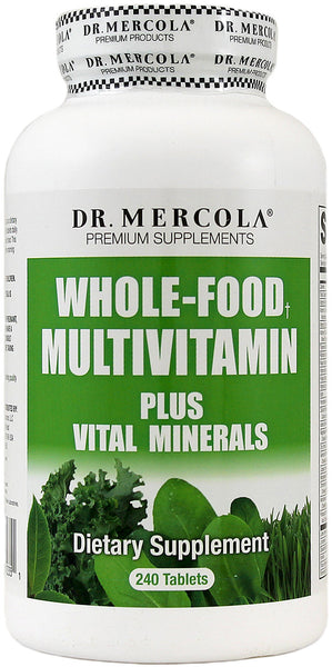 Whole Food Multivitamin PLUS Tablets - Over 50 Nutritional Ingredients - Antioxidant Formula by Dr. Mercola