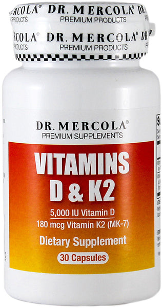 Vitamins D & K2 - Supports Heart Health & Vascular System by Dr. Mercola