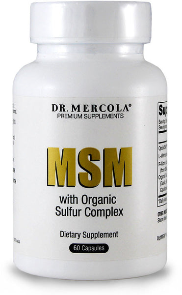 MSM - Help Your Body Get The Adequate Amounts of Sulfur it Needs by Dr. Mercola