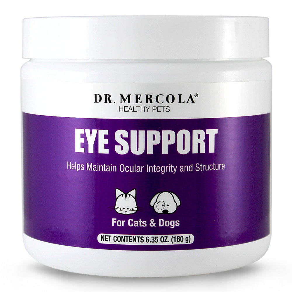 Eye Support For Pets - Helps Maintain Ocular Integrity & Structure by Dr. Mercola