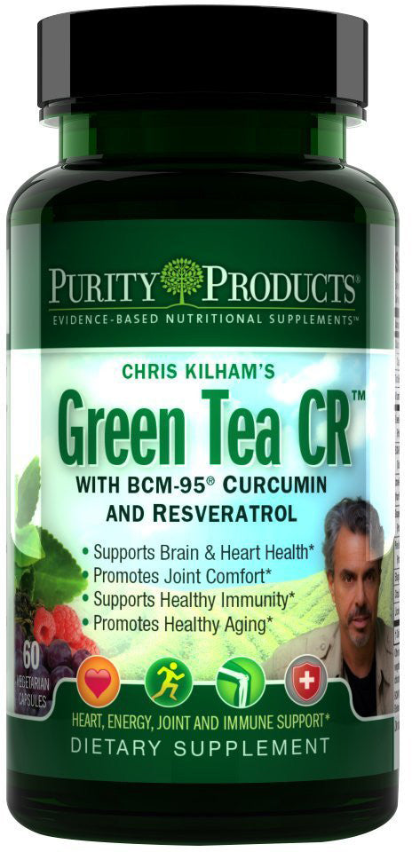 Green Tea CR - Supports Healthy Energy, Vitality & Brain Function by Purity Products