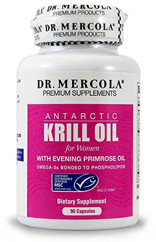 Krill Oil for Women - Improved Absorption Over Fish Oil by Dr. Mercola