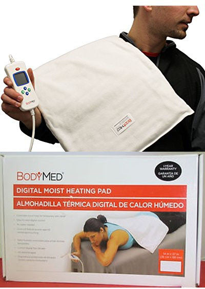 Digital Moist Heating Pad - A Highly Effective Pain Relieving Device by BodyMed