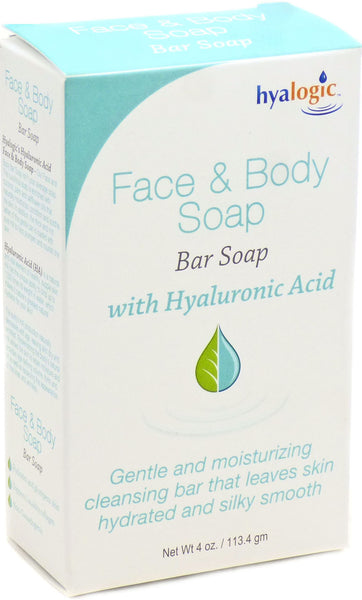 Face & Body Soap - Naturally Moisturize, Condition & Soothe The Skin by Hyalogic
