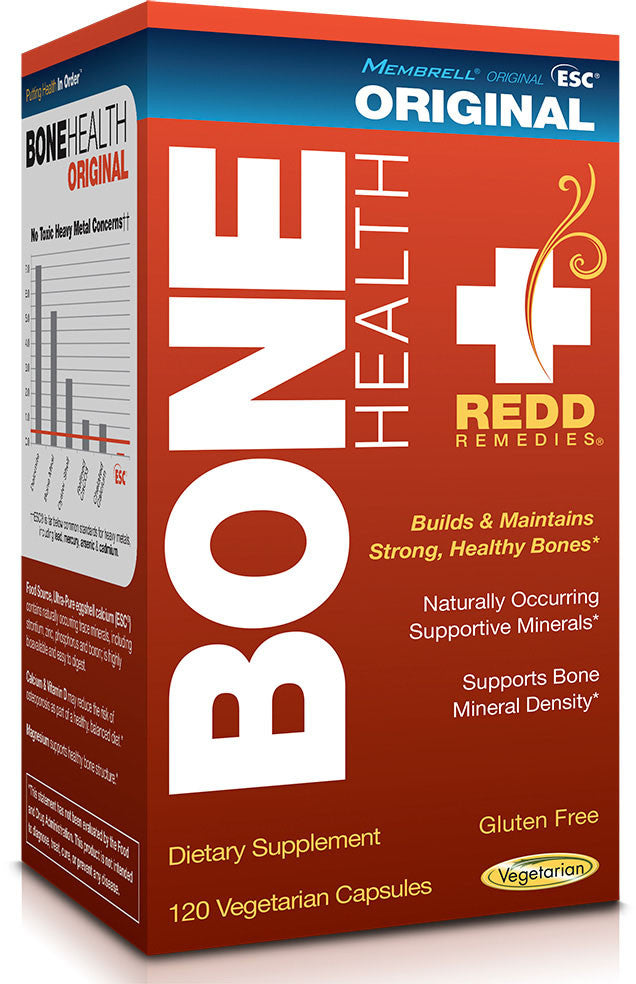 Bone Health Original - Supports Healthy Bones & Bone Mineral Density by Redd Remedies