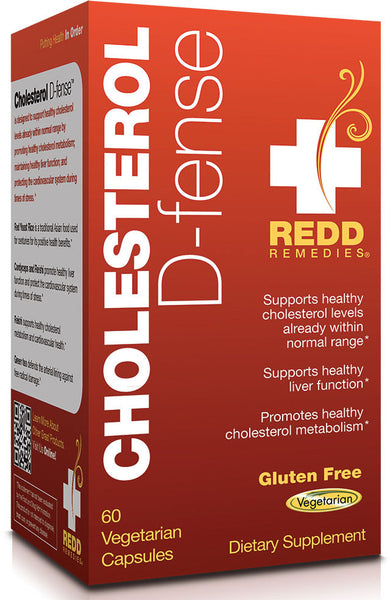 Cholesterol D-fense - Promotes Healthy Cholesterol Metabolism by Redd Remedies