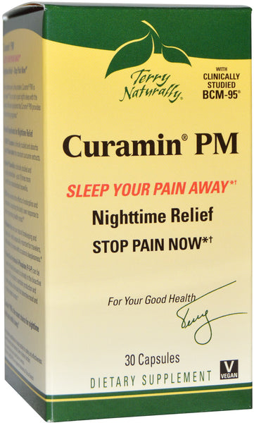 Curamin PM - Get A Good Night's Sleep Without Morning Grogginess By Terry Naturally