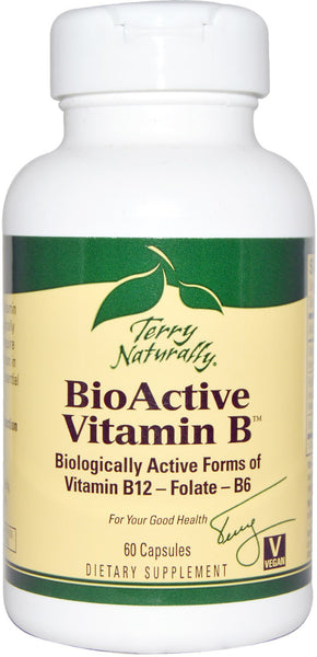 BioActive Vitamin B - Supports Brain & Nervous System Function by Terry Naturally