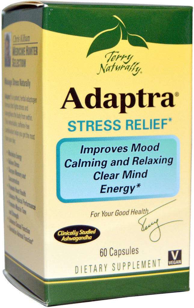 Adaptra - Fights Stress & Strengthens The Body by Terry Naturally