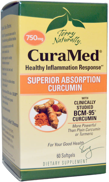 Curamed 750mg - Healthy Inflammation Response by Terry Naturally