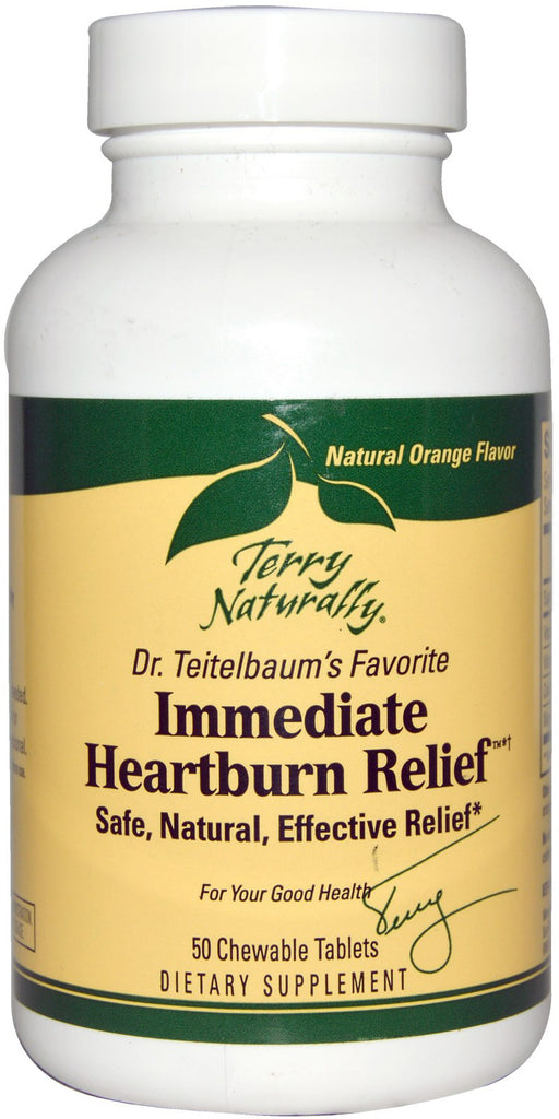 Immediate Heartburn Relief - Relief of Occasional Heartburn by Terry Naturally